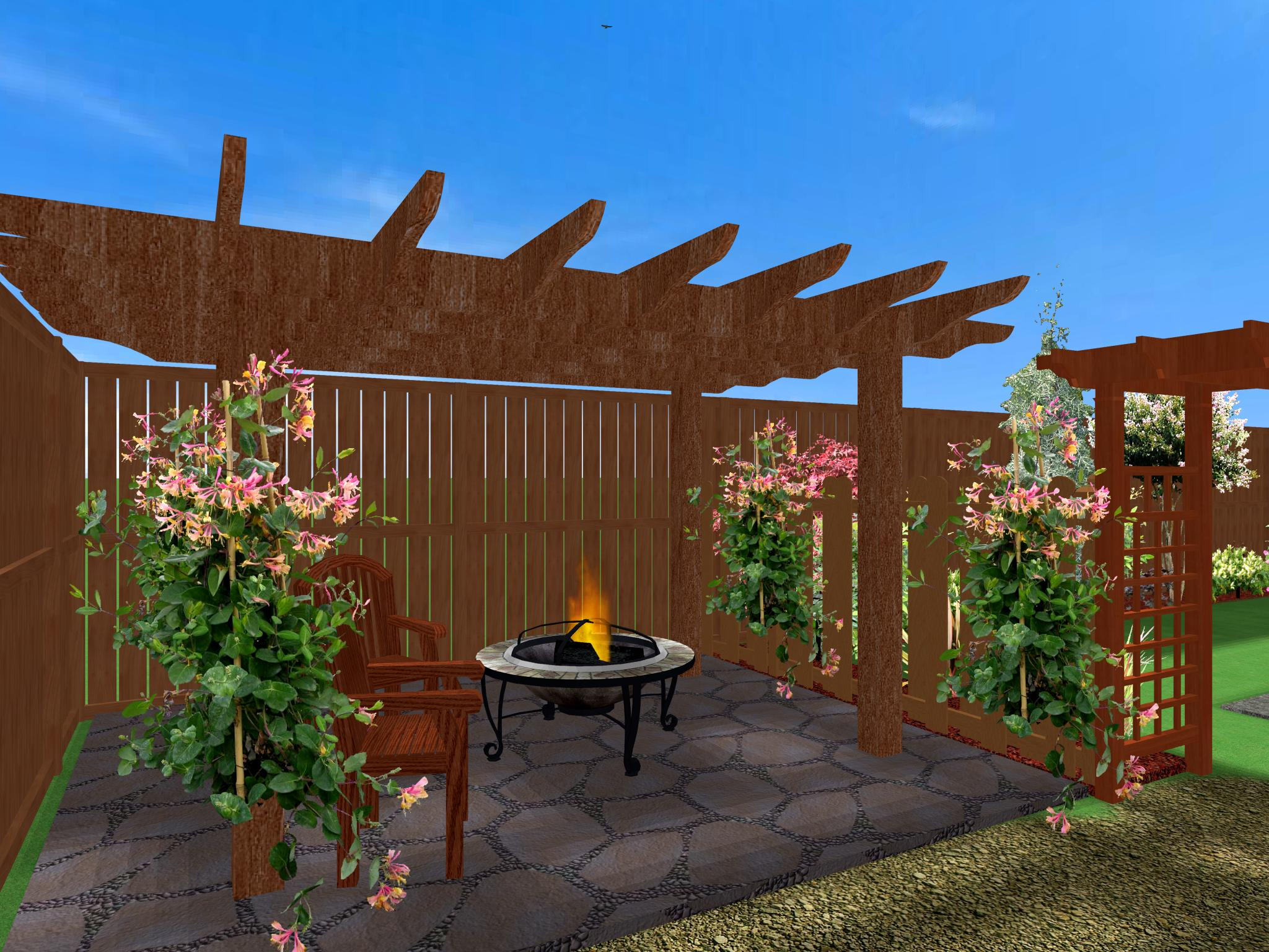 Backyard Pergola Designs : Well Grounded Designs  photo gallery